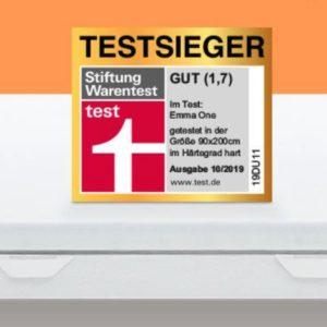 TOP 💤 15% Rabatt auf Emma One Matratzen (Testsieger) ☁️