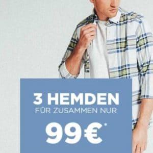 Eterna 3 Hemden für 99 Euro