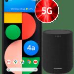 [Endet heute] Google Pixel 4a 5G mit 6GB & 128GB + Harman Kardon Lautsprecher 📲