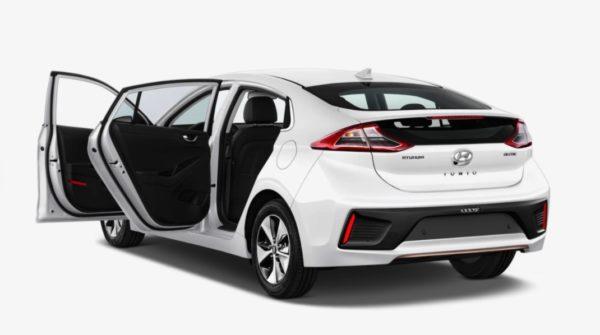 Hyundai Ioniq Elektro tueren auf