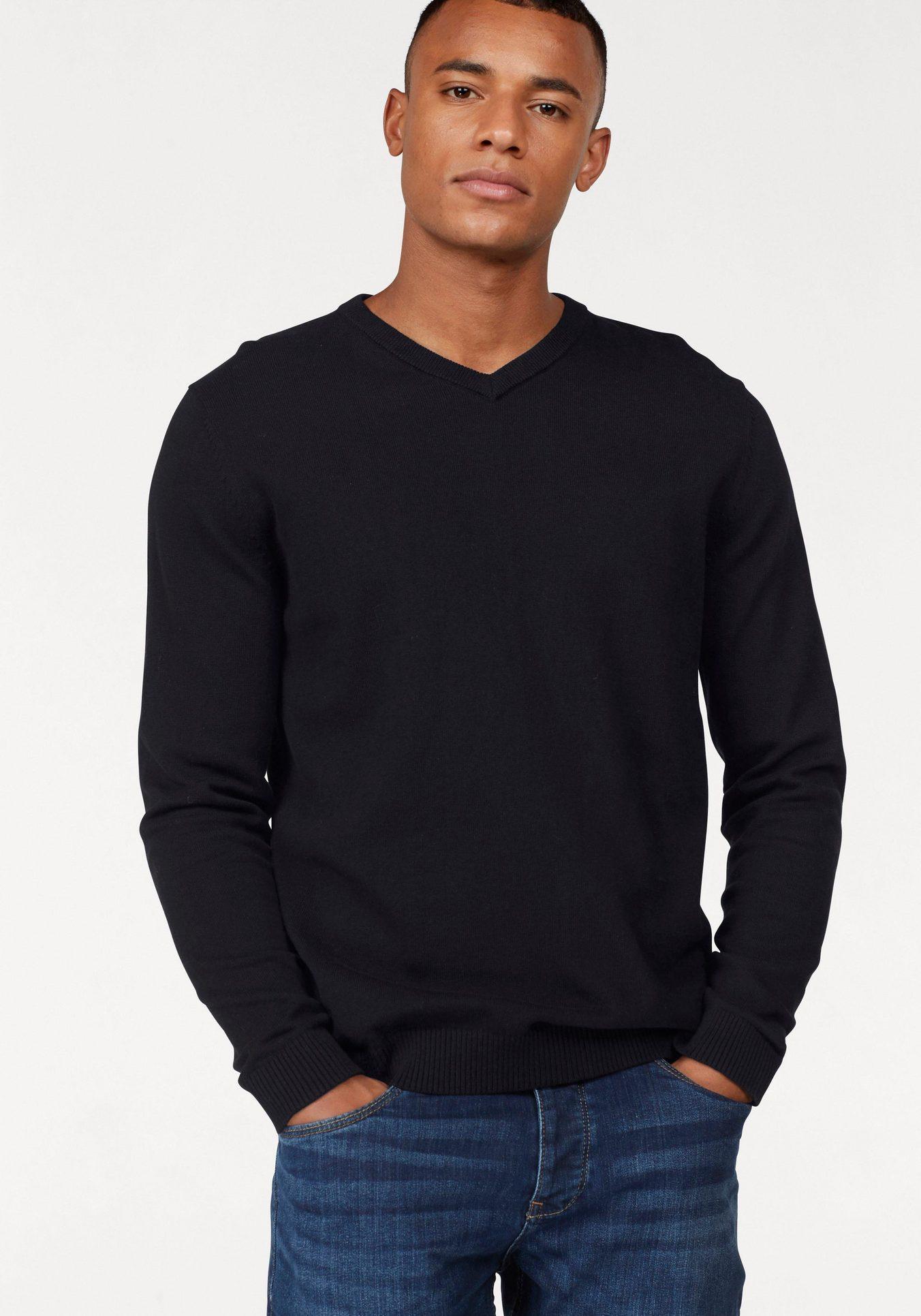Jack & Jones V-Ausschnitt-Pullover