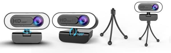 ➤Plug & Play und Autofokus: lesvtu Streaming Webcam mit Standard USB Anschluss für das UVC Protokoll. Sie müssen keinen anderen Treiber oder keine andere Software herunterladen. Plug and Play! Die Computer Kamera ist mit USB 2.0 / 3.0 kompatibel und bietet eine hervorragende Qualität Bild mit 30 Bildern pro Sekunde, die Webcam mit Autofokus erfasst alle Details, passt Farbe und Helligkeit für natürliches Licht an. Lebensnahes Video auch bei schlechten Lichtverhältnissen