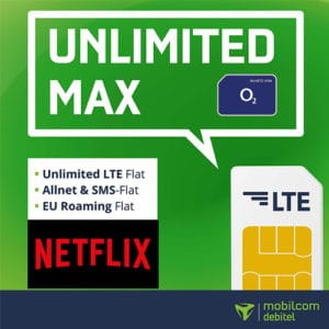 Md o2 unlimited Netflix