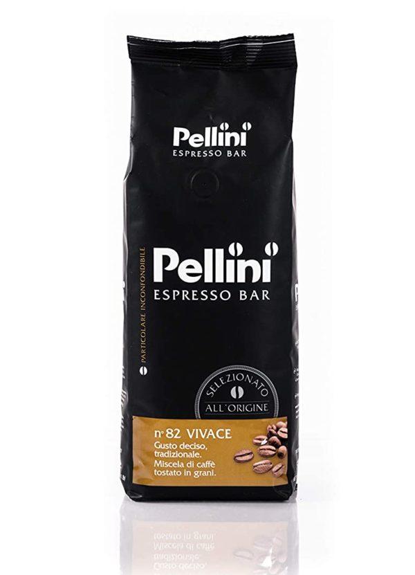 Pellini Caffe Bohnenkaffee von Pellini Espresso Bar Nr. 82 Vivace 500 g 2er Pack e1611145613300