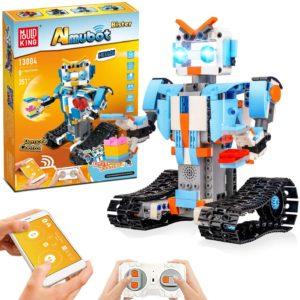 STEM Roboter Spielzeug Bausatz 351 tlg Bausatz fuer Ferngesteuerte Bildungsroboter fuer Kinder ab 8 Jahren