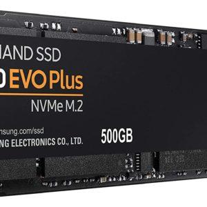 Samsung MZ V7S500BW 970 EVO Plus 500 GB NVMe M.2 Interne SSD Schwarz