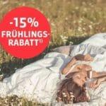 [Endspurt] Schlafwelt 😊💤  15% Gutschein auf alles + Gratis-Versand (ab 50€)
