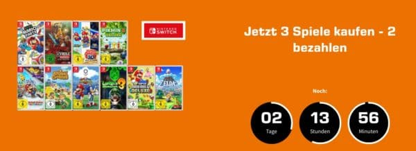 Switch Games Nimm 3 zahl 2 Saturn
