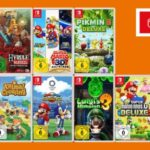 3 für 2 auf Switch Games 🎮 z.B. Animal Crossing, Paper Mario & Legend of Zelda