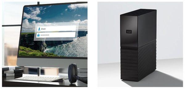 WD My Book Desktop-Speicher