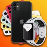 iphone 11 apple watch nike series 5