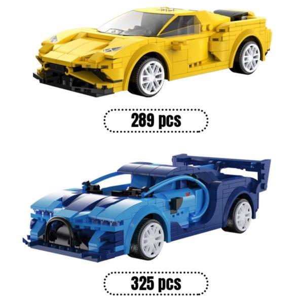 Cada RC Auto blau und gelb
