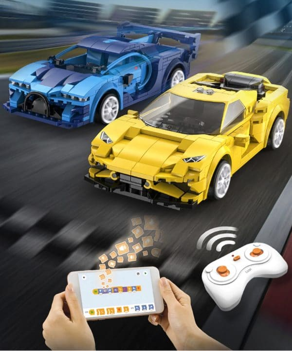 Cada RC Auto blau und gelb deal