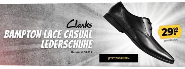 Clarks Bampton Lace Casual Herren Lederschuhe
