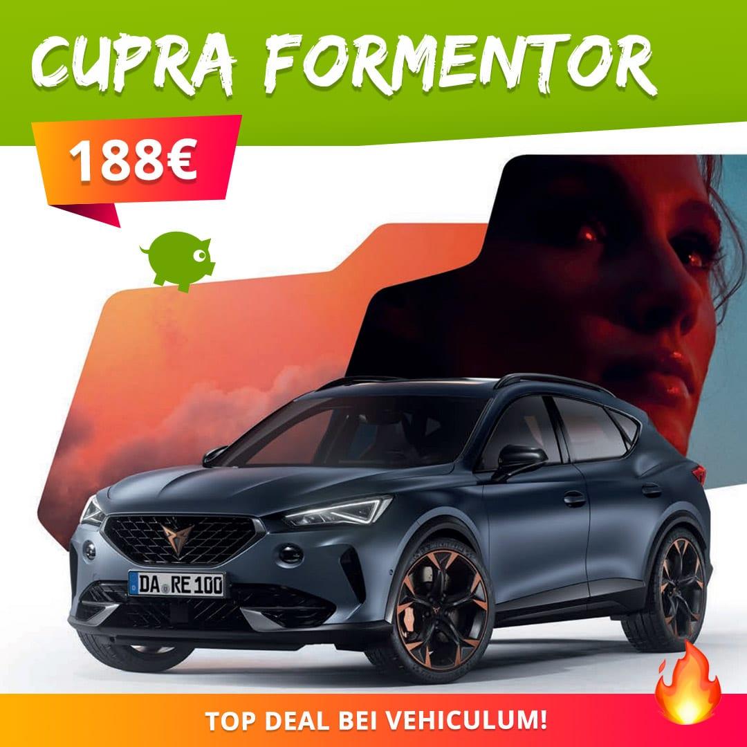 Cupra Formentor VZ 1.4 e-HYBRID mit 245 PS im Privat-Leasing
