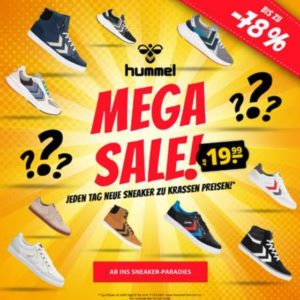 👟🎉 Hummel Sneaker ab 20€ im Sale