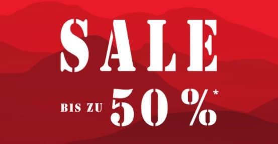 Jack Wolfskin Sale mit bis zu 50 Prozent