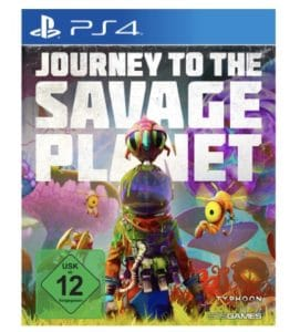 PS4 JOURNEY TO THE SAVAGE PLANET  PlayStation 4 fuer PlayStation 4 online kaufen  SATURN 2021 02 15