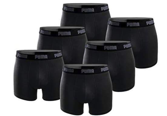 PUMA Boxershorts 6er Pack