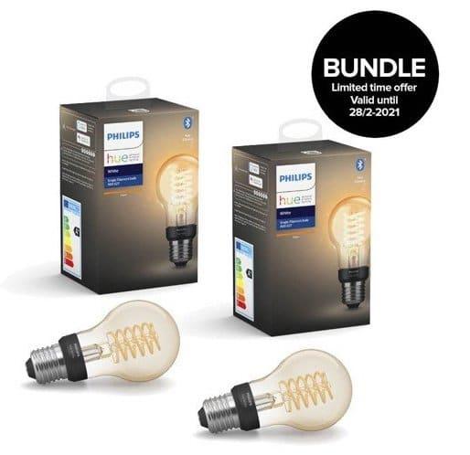 Philips Hue   Filament Lampe E27