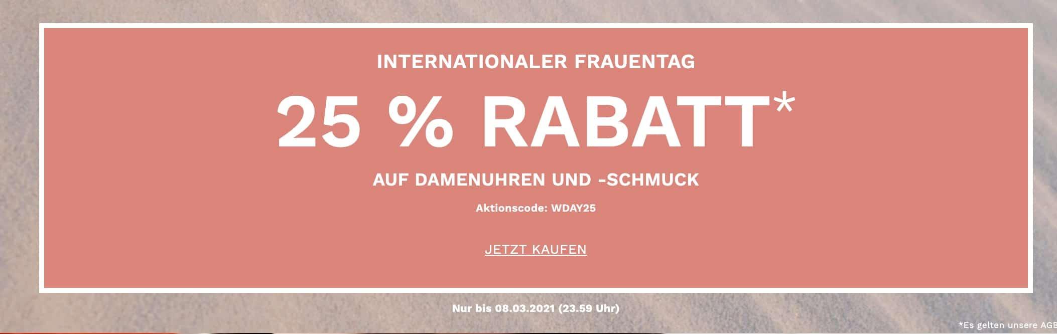 Skagen Weltfrauentag Sale breit