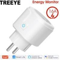 Treeye smarte Steckdose mit Alexa und Google Home Assistent