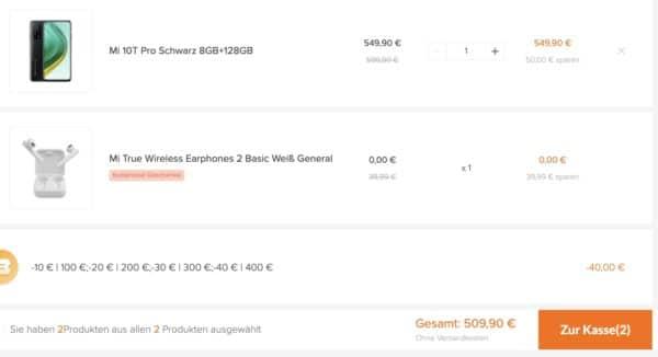 Warenkorb   Xiaomi Deutschland 2021 02 01