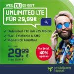 [Endspurt] o2 Unlimited 😲 mtl. kündbare Allnet-Flat + unendlich LTE mit 225 Mbit/s + 2 Monate Gymondo