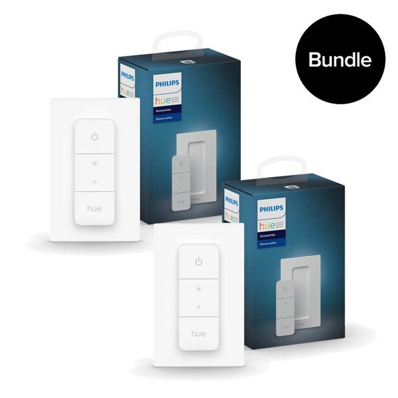 philips hue 2x new dimmer switch bundle