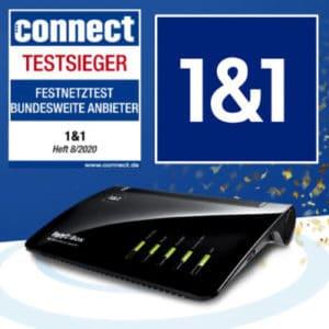 🏠 1&1: DSL mit 250 Mbit/s für effektiv 27,91€ mtl., für Wechsler nur 25,83€ mtl.