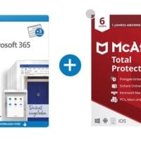 15 Monate Microsoft 365 Family mit McAfee Total Protection