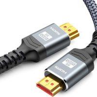 Snowkids 8K HDMI 2.1 Kabel 2 m Länge