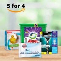Amazon 5 fuer 4 Drogerie