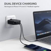 Aukey PA D3 USB C Ladegeraet 60W Power Delivery USB C