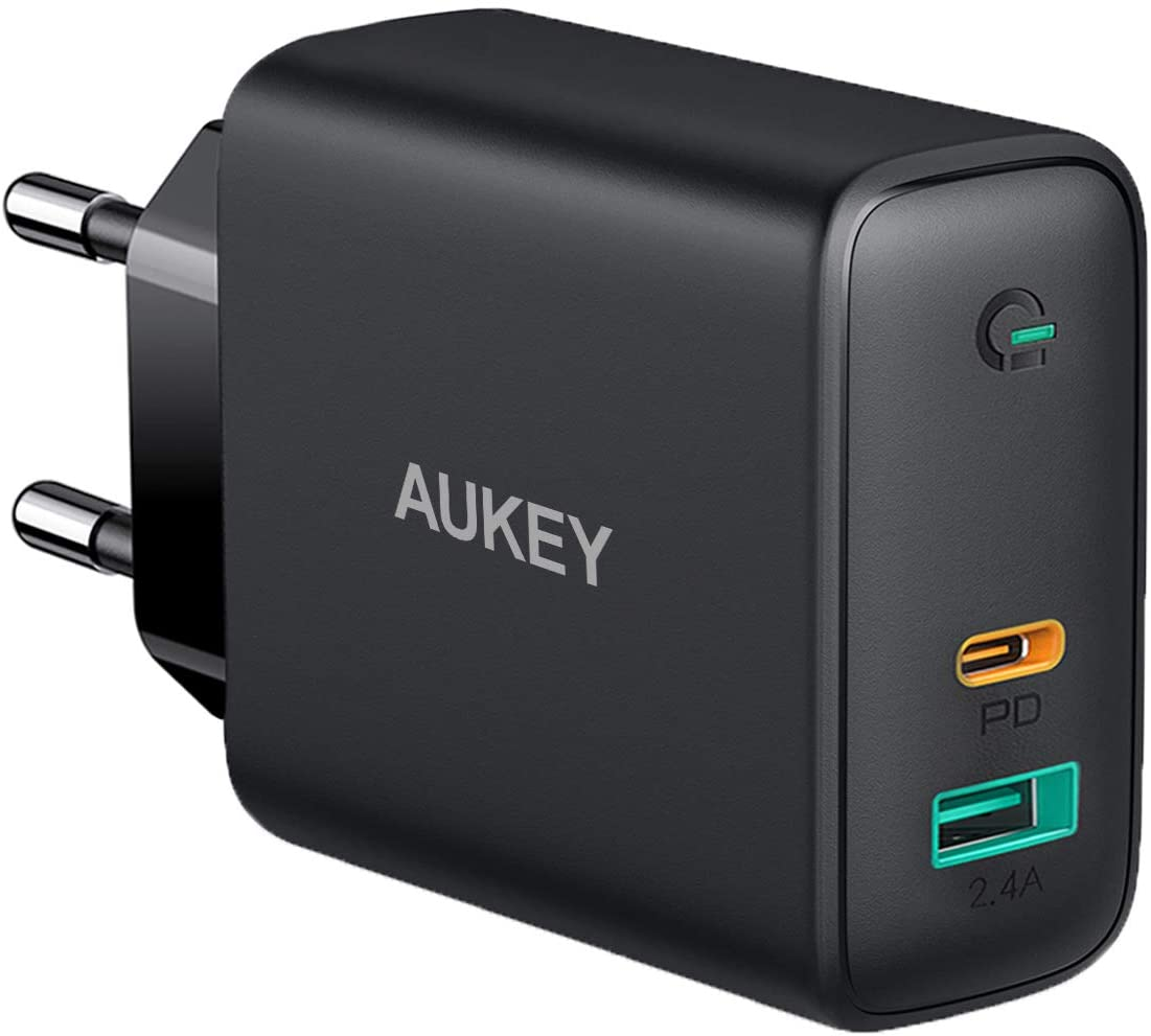 Aukey PA D3 USB C Ladegeraet 60W Power Delivery USB C deal