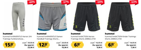 Hummel Sale Shorts