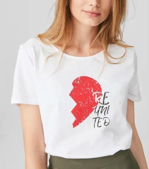 C und A Heroes Damen Shirt