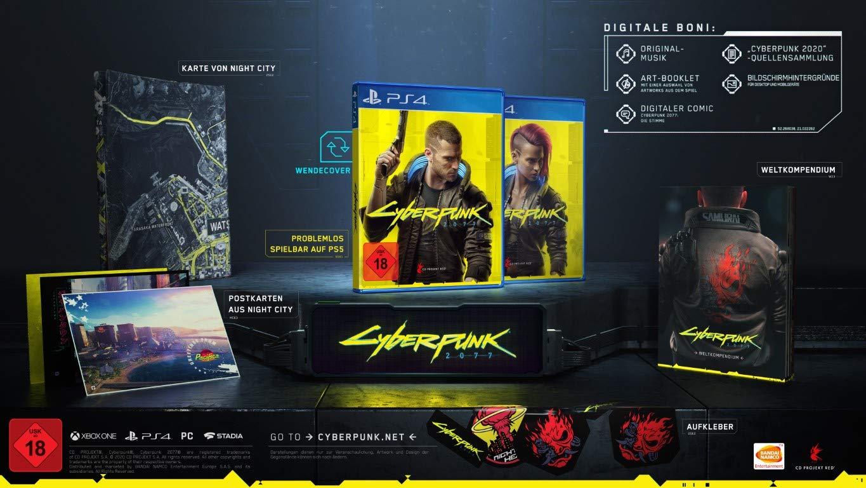 Cyberpunk 2077 Collectors Edition Inhalt