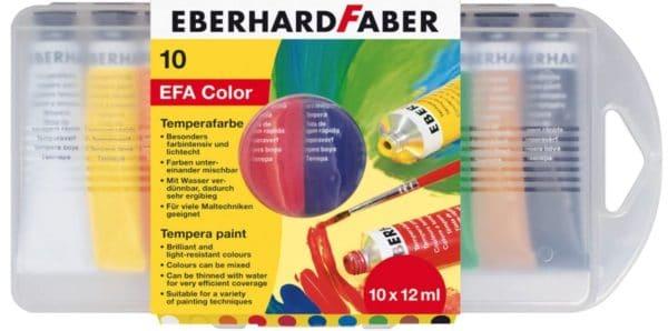 Eberhard Faber Schulmalfarben 10 Tuben