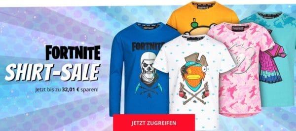 Fortnite-Shirts für Kids ab nur 3,99€