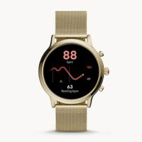 Fossil Gen 5 Smartwatch Julianna HR Milanaise Gold