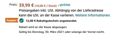 Gosund Alexa Steckdose 4er Pack