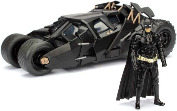 Absolut einzigartig – Die Dark Knight Version des Batmobils ist für viele DC-Fans die mit Abstand beliebteste Ausführung des schnellsten Fortbewegungsmittels von ganz Gotham