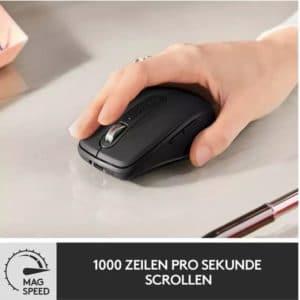 LOGITECH MX Anywhere 3 ergonomische kabellose Maus Graphite