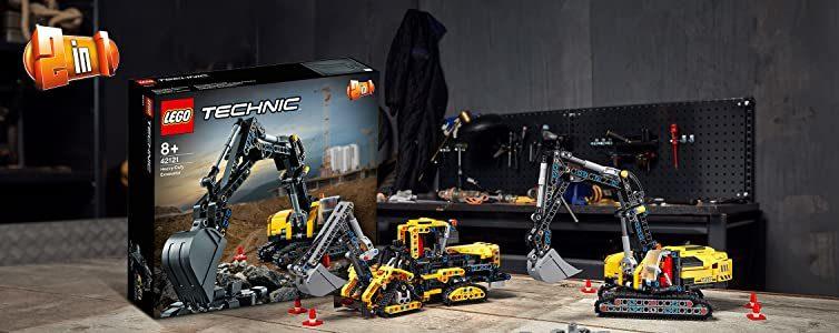 Lego 42121 Hydraulikbagger 2 in 1 e1616237117348