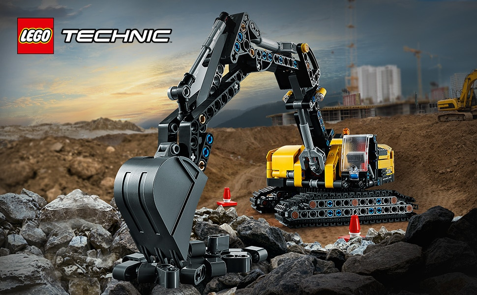 Lego 42121 Hydraulikbagger ambient