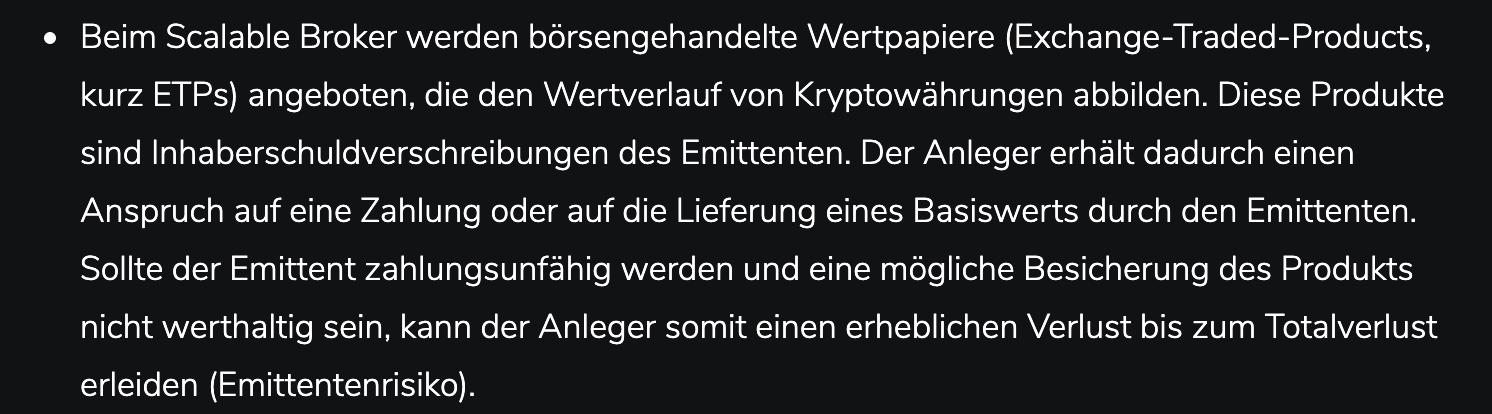 Scalable Broker Krypto