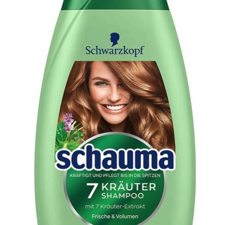 Schwarzkopf Schauma Shampoo Damen 7-Kräuter vegan