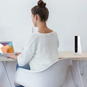 Suntec CoolBreeze Sensation Desk+ Mini-Turmventilator