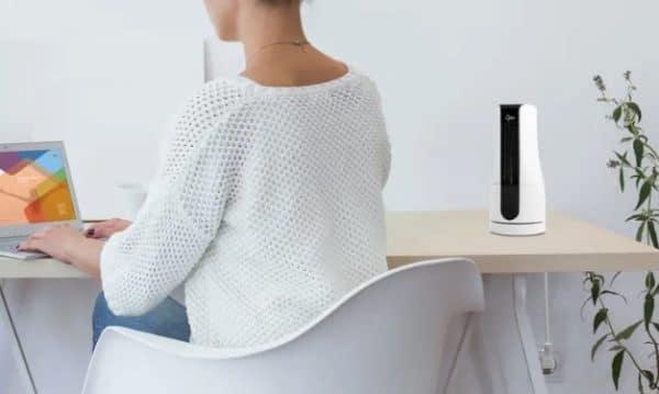Suntec CoolBreeze Sensation Desk+ Mini-Turmventilator - Weiß